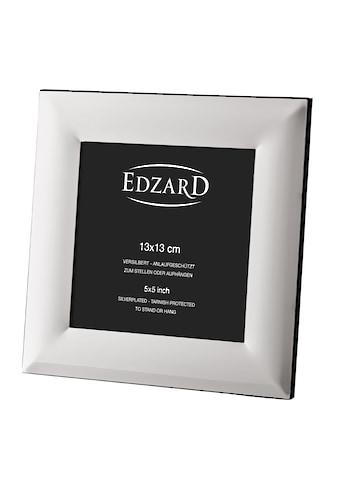 EDZARD Bilderrahmen »Gela«, für 13x13 cm Foto - edel versilberter Fotorahmen, Rahmen... kaufen