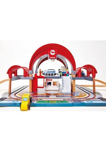 """Hape Spielzeugeisenbahn - Gebäude """"Großstadtbahnhof mit Licht und Sound"""" kaufen"""