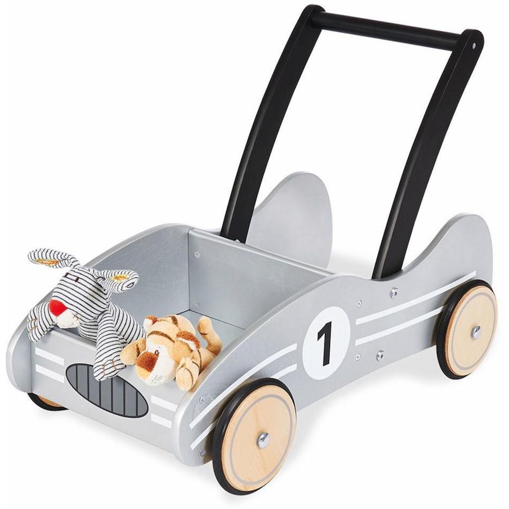 Pinolino® Lauflernwagen »Kimi, silbergrau«
