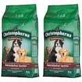 Christopherus Trockenfutter »Getreidefrei Senior Ente und Kartoffel«, (2), 2 Beutel á 4 kg