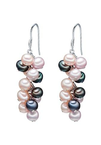 Valero Pearls Perlenohrringe »Set: A1069«, (2 tlg.), aus Süßwasser-Zuchtperlen kaufen