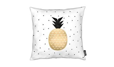 Dekokissen, »Golden Pineapple«, Juniqe kaufen