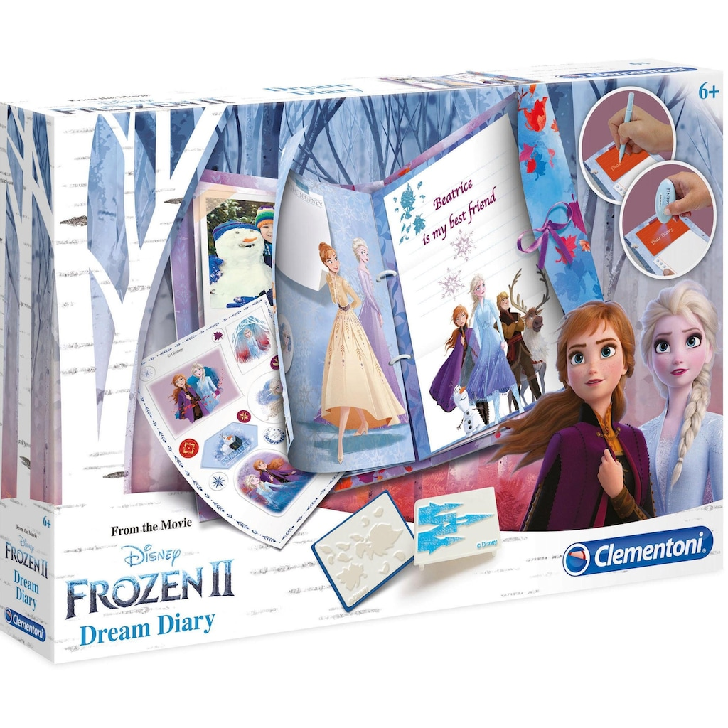 Clementoni® Elektronisches Tagebuch »Frozen 2 - Traum-Tagebuch«