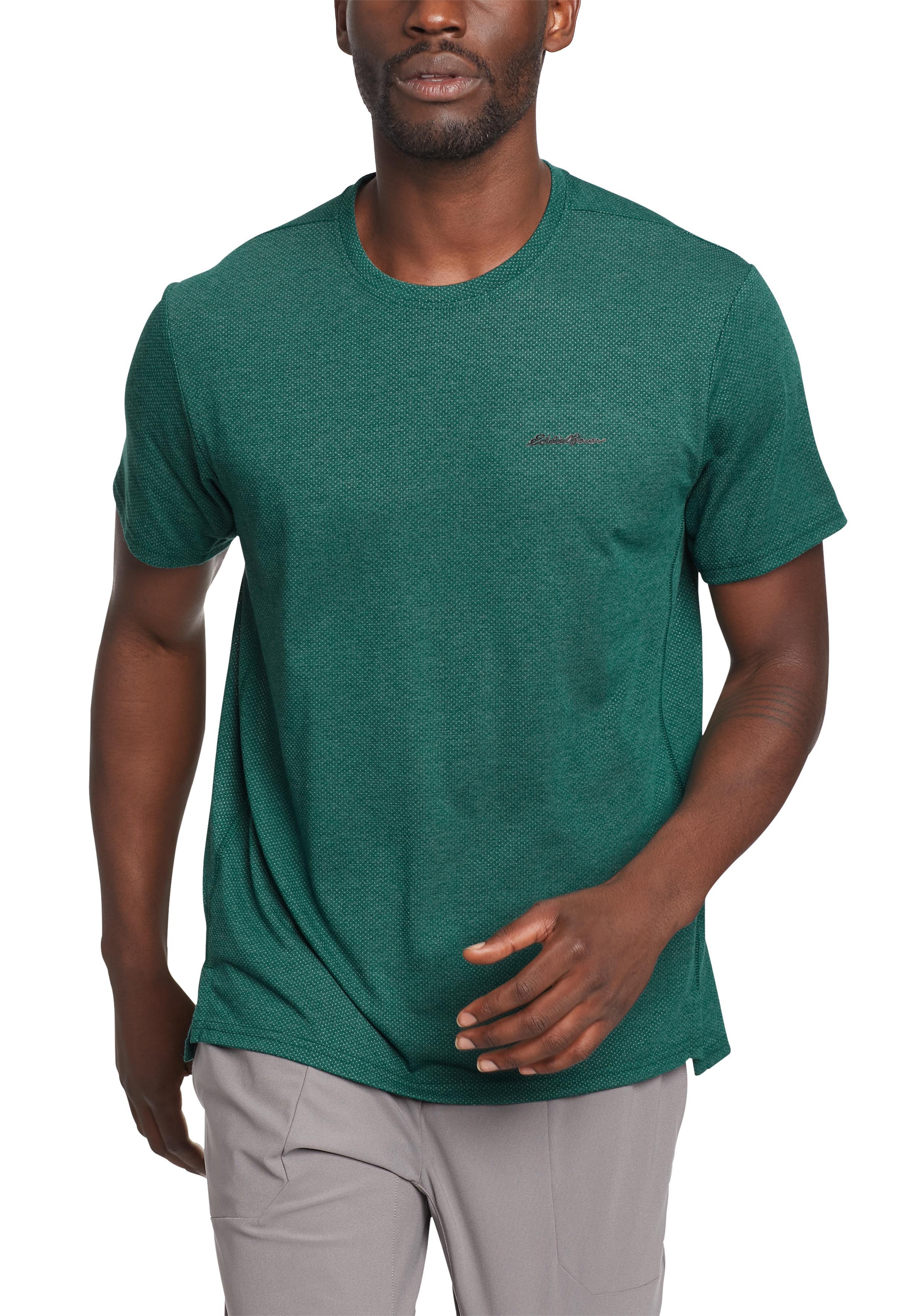 Eddie Bauer Funktionsshirt, Boundless T-Shirt grün Herren Funktionsshirt