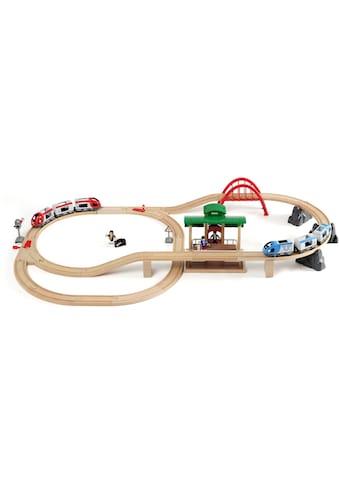 BRIO® Spielzeug-Eisenbahn »BRIO® WORLD Großes Bahn Reisezug Set«, Made in Europe,... kaufen