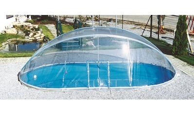 KWAD Poolüberdachung »Cabrio Dome«, BxLxH: 360x625x165 cm kaufen