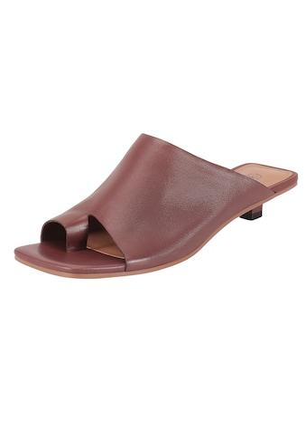 ekonika Pantolette, mit trendiger Karree-Spitze kaufen