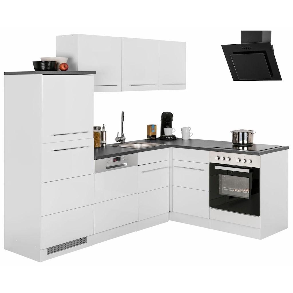 HELD MÖBEL Winkelküche »Trient«, ohne E-Geräte, Stellbreite 230 x 170 cm