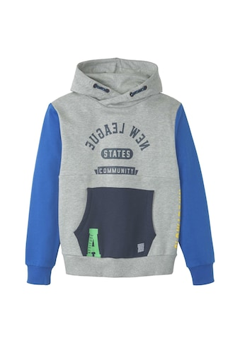 TOM TAILOR Sweatshirt »Patchwork Hoodie« kaufen