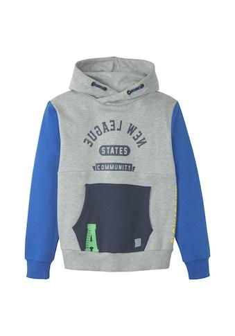 TOM TAILOR Sweatshirt »Patchwork Hoodie« kaufen