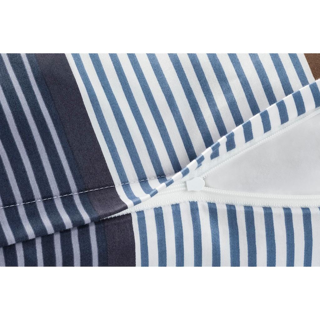 Joop! Bettwäsche »JOOP! CORNFLOWER STRIPES«, mit elegantem Streifen-Muster