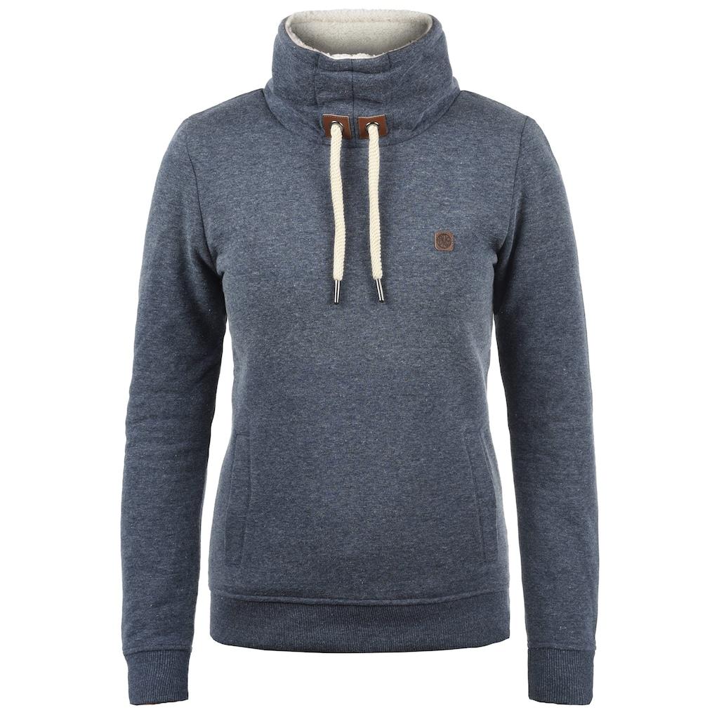 DESIRES Sweatshirt »Ozeana Pile«, Sweatpullover mit Teddyfutter Innenseite