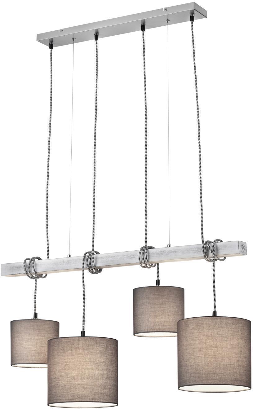 TRIO Leuchten Pendelleuchte PADME, E27, Hängeleuchte, Hängelampe