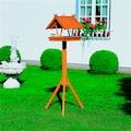 promadino Vogelhaus »Rhön«, BxTxH: 36x41,5x141 cm, mit Standbein