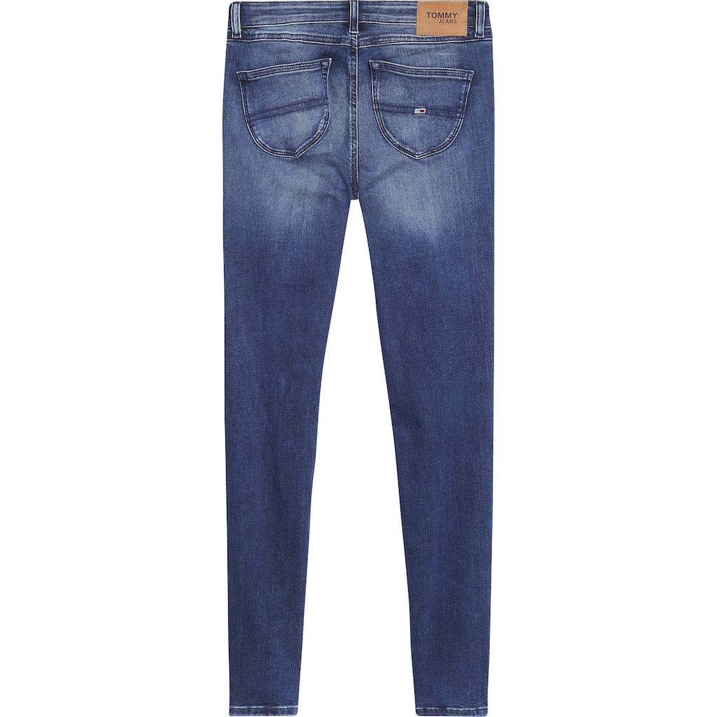Tommy Jeans Skinny-fit-Jeans »SOPHIE LR SKNY«, mit Tommy Jeans Logo-Badge & Stickereien