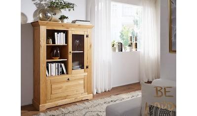 Premium collection by Home affaire Highboard »Brasilia«, aus Massivholz kaufen