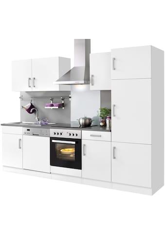 HELD MÖBEL Küchenzeile »Toronto«, mit E - Geräten, Breite 280 cm kaufen