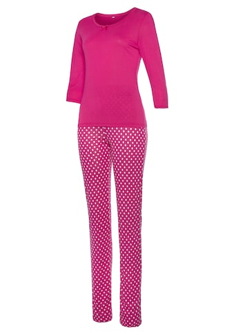 Vivance Dreams Pyjama, mit Pünktchen Print kaufen