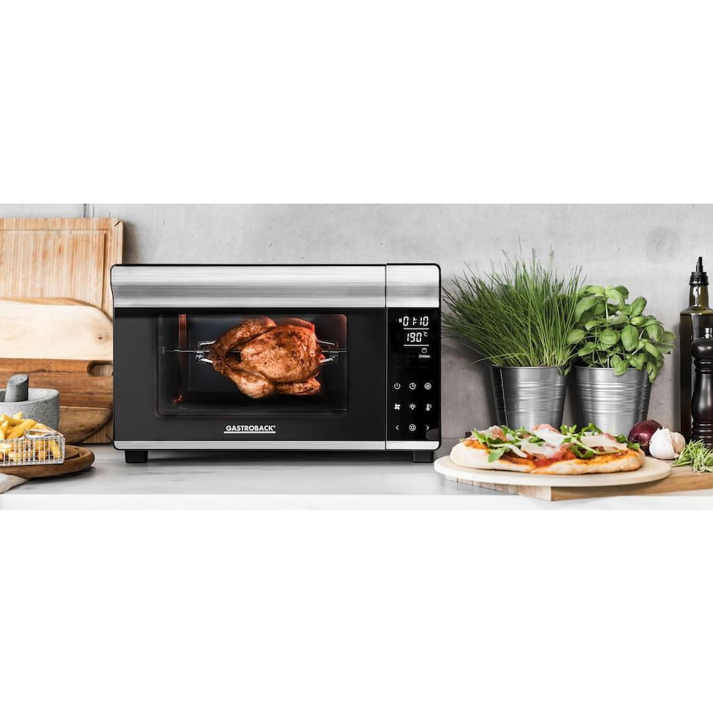 Gastroback Minibackofen »Bake & Grill Design Bistro 42814«, Ober-/Unterhitze-Heißluft, 1500 W