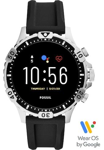 Fossil Smartwatches Garrett HR Smartwatch, FTW4041 Smartwatch ( 1.28 Zoll, Wear OS by Google) kaufen