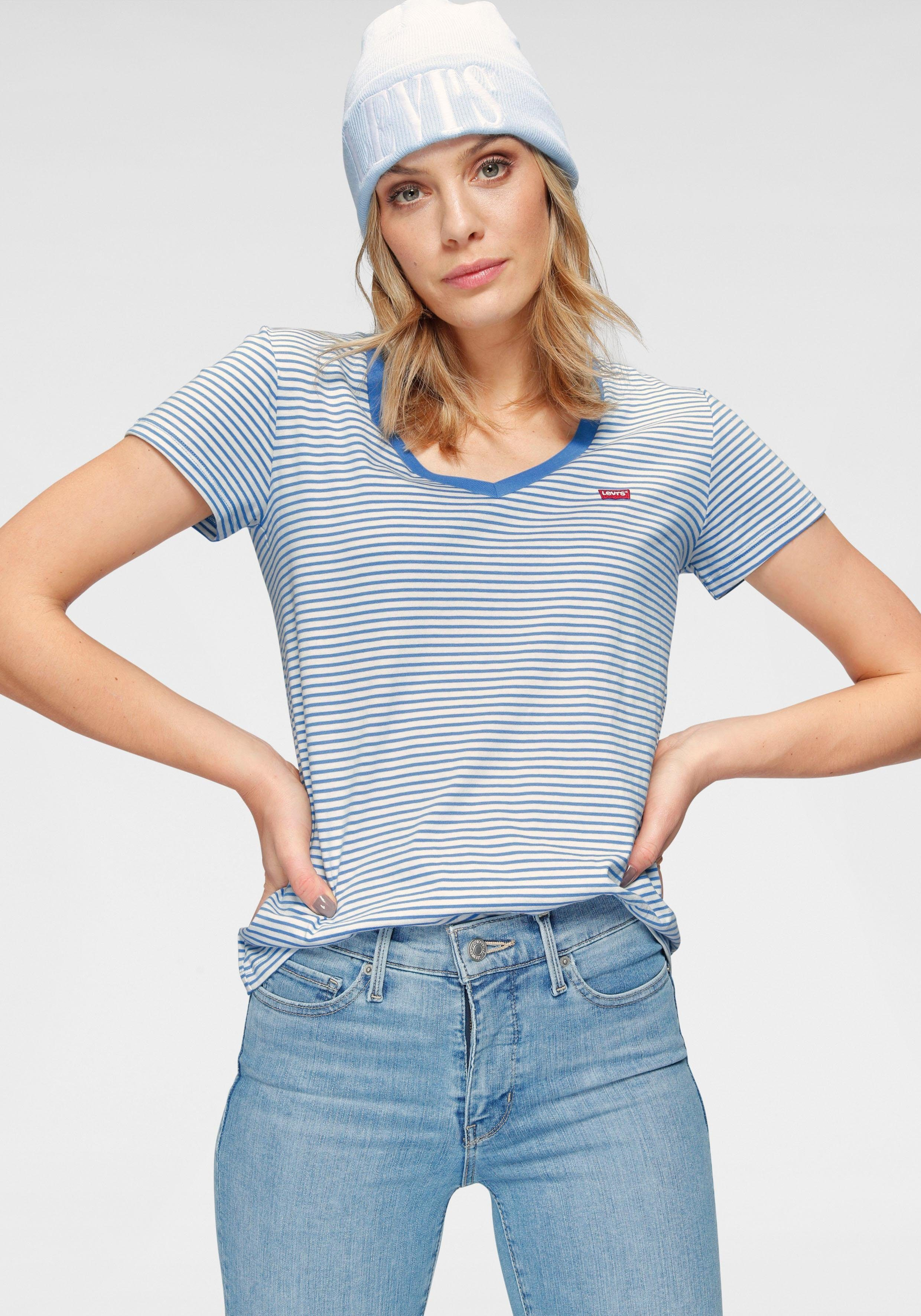 Levi's V-Shirt Perfect V- Neck | Bekleidung > Shirts > V-Shirts | Levi's