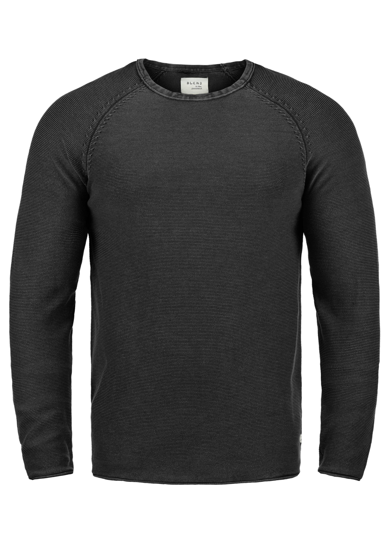 Blend Rundhalspullover Oddone | Bekleidung > Pullover > Rundhalspullover | Grau | Blend