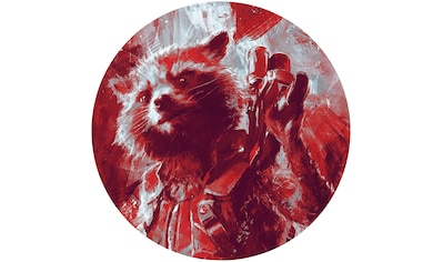 Komar Fototapete »Avengers Painting Rocket Raccoon«, bedruckt-Comic-Retro-mehrfarbig,... kaufen
