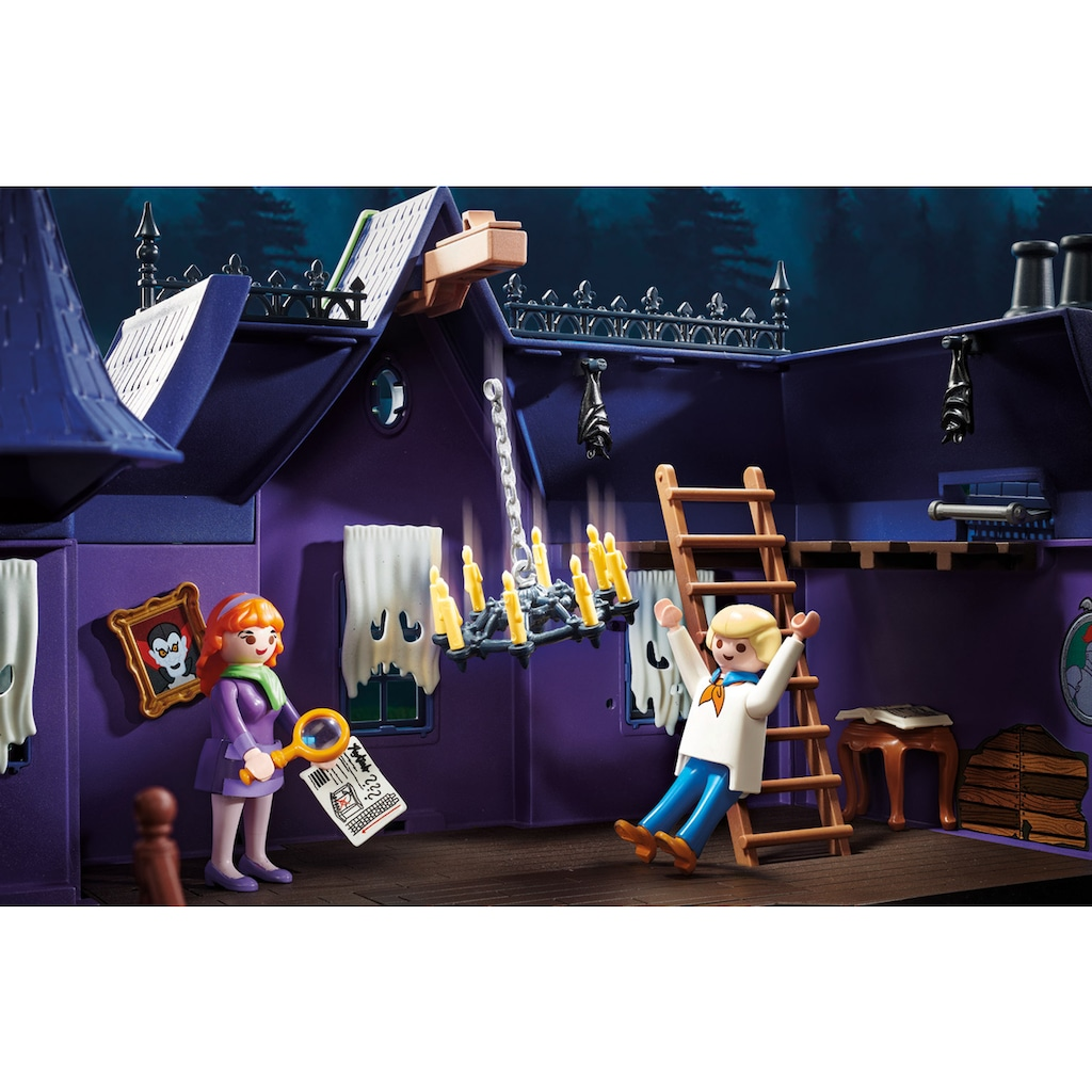 Playmobil® Konstruktions-Spielset »SCOOBY-DOO! Abenteuer im Geisterhaus (70361), SCOOBY-DOO!«, ; Made in Germany