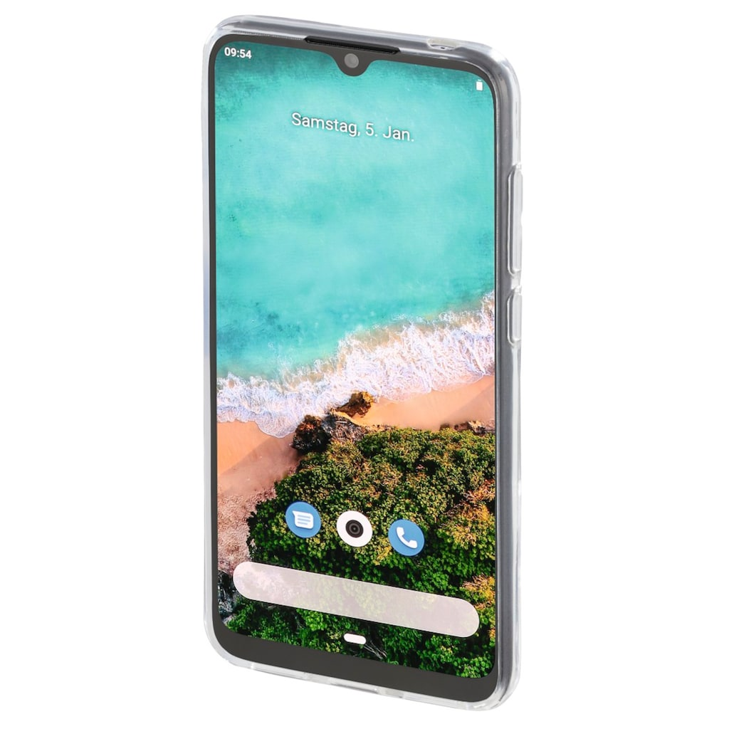 Hama Cover, Hülle für Xiaomi Mi A3, Transparent