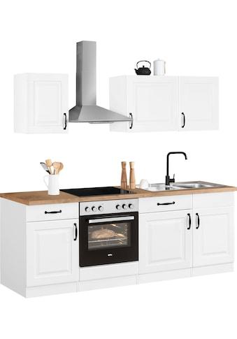 wiho Küchen Küchenzeile »Erla«, mit E-Geräten, Breite 220 cm kaufen