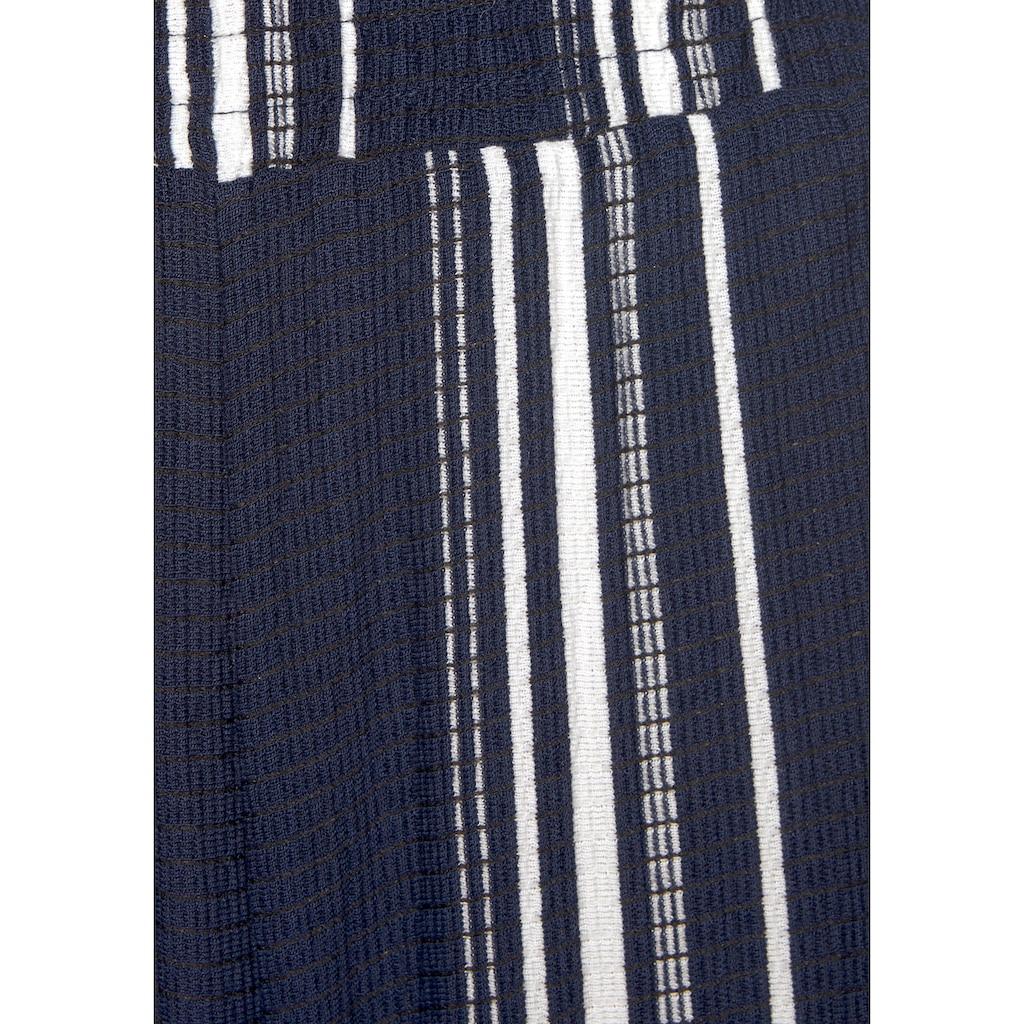 LASCANA Culotte-Overall, aus strukturierter Ware