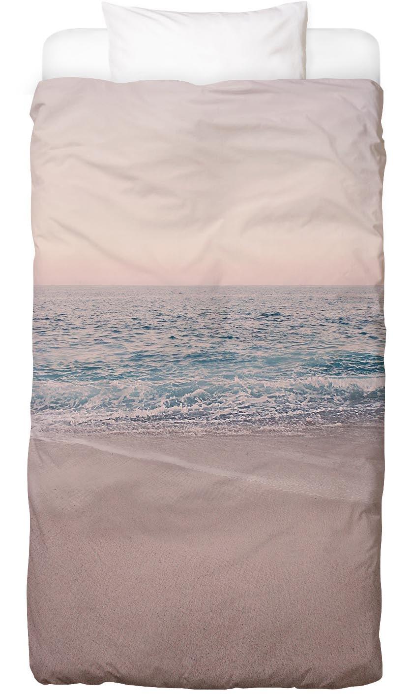 Bettwäsche Rosegold Beach Morning Juniqe
