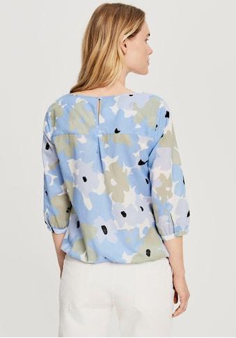 OPUS Langarmbluse »Fu fresh«, mit Allover Print in floralem Design kaufen