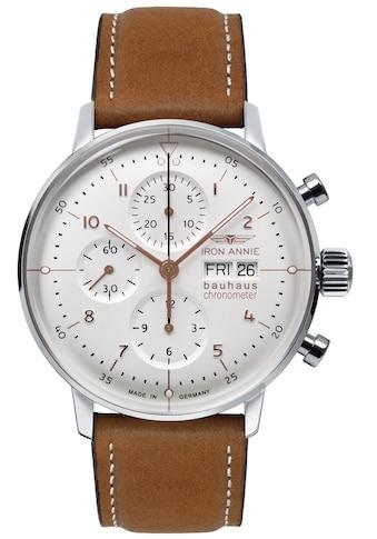 IRON ANNIE Automatikuhr »Bauhaus, Chronometer Sternwarte Glashütte, 5020-4« kaufen