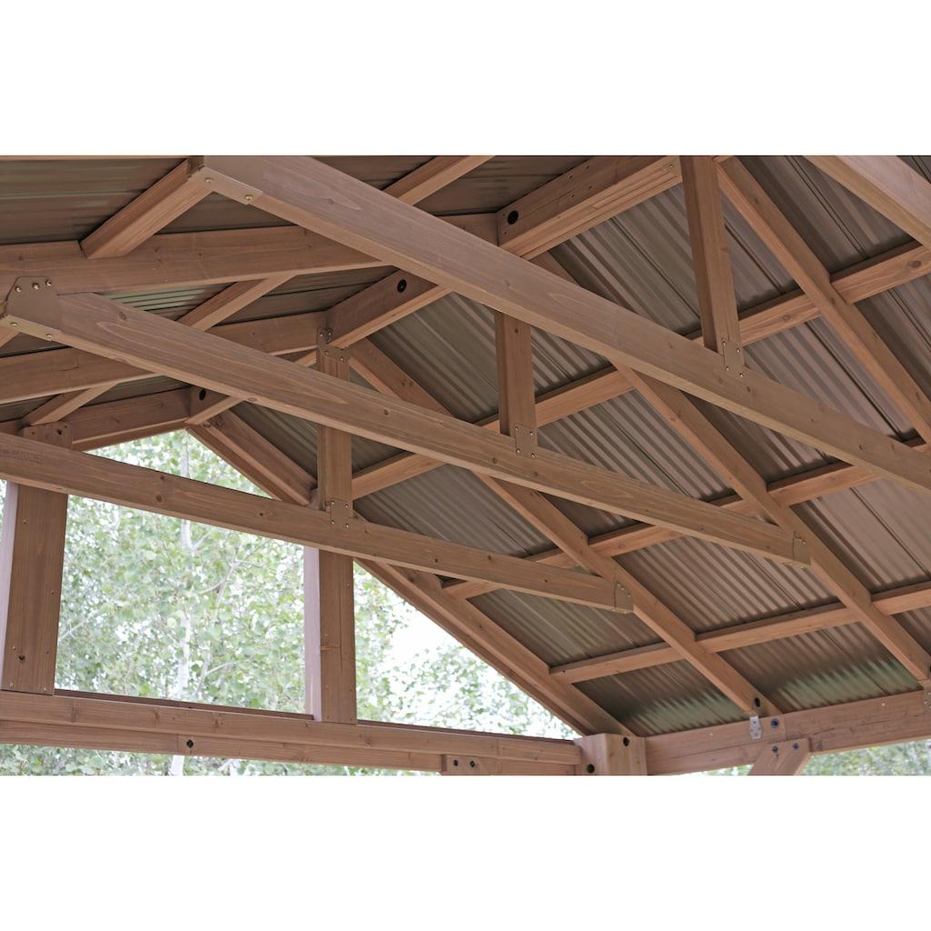 WESTMANN Holzpavillon »Yukon 14x12«, BxT: 427x366 cm