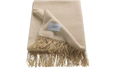 SCHÖNER WOHNEN-Kollektion Wohndecke »Luxery«, mit hohem Kaschmiranteil kaufen