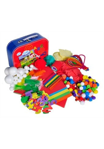 Knorrtoys® Kreativset »Bastelkoffer Arts & Crafts«, (Set, 300 tlg.) kaufen