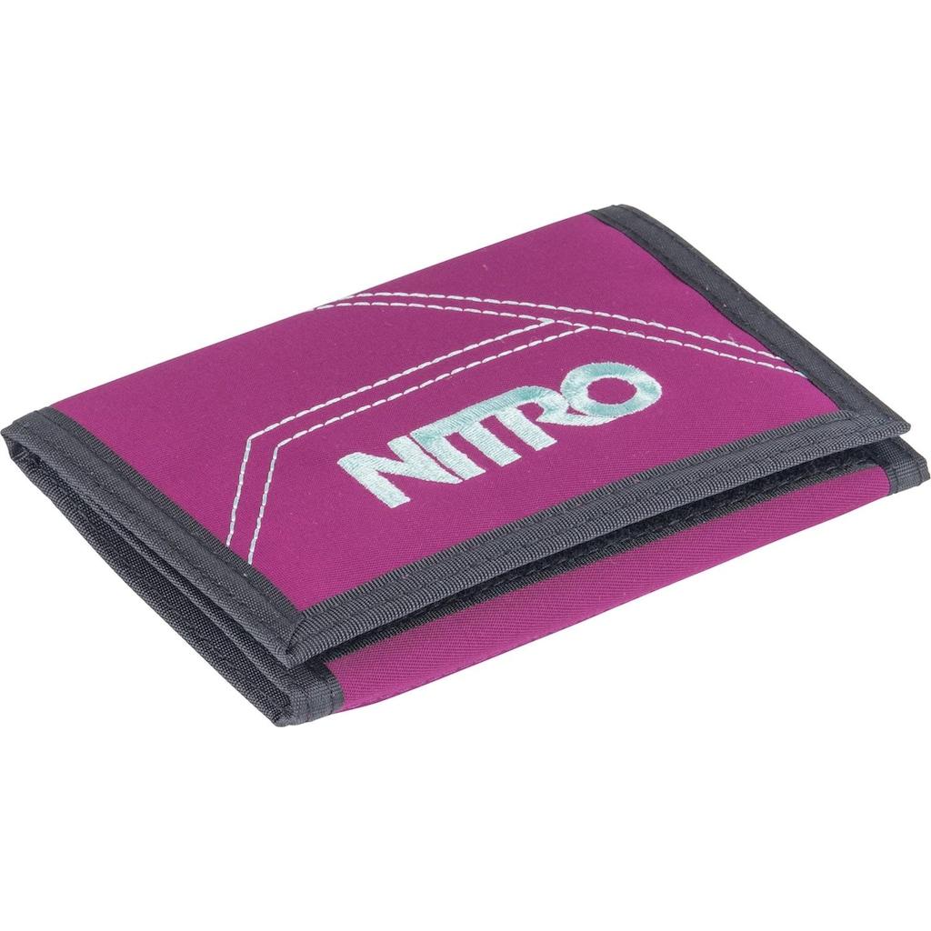 NITRO Geldbörse »Walled, Grateful Pink«