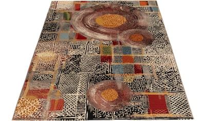 Teppich, »Outdoor - Africa 36«, Gino Falcone, rechteckig, Höhe 5 mm, maschinell gewebt kaufen