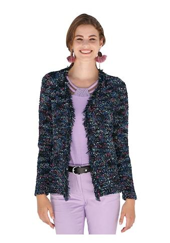 Amy Vermont Strickjacke aus buntem Bändchengarn kaufen