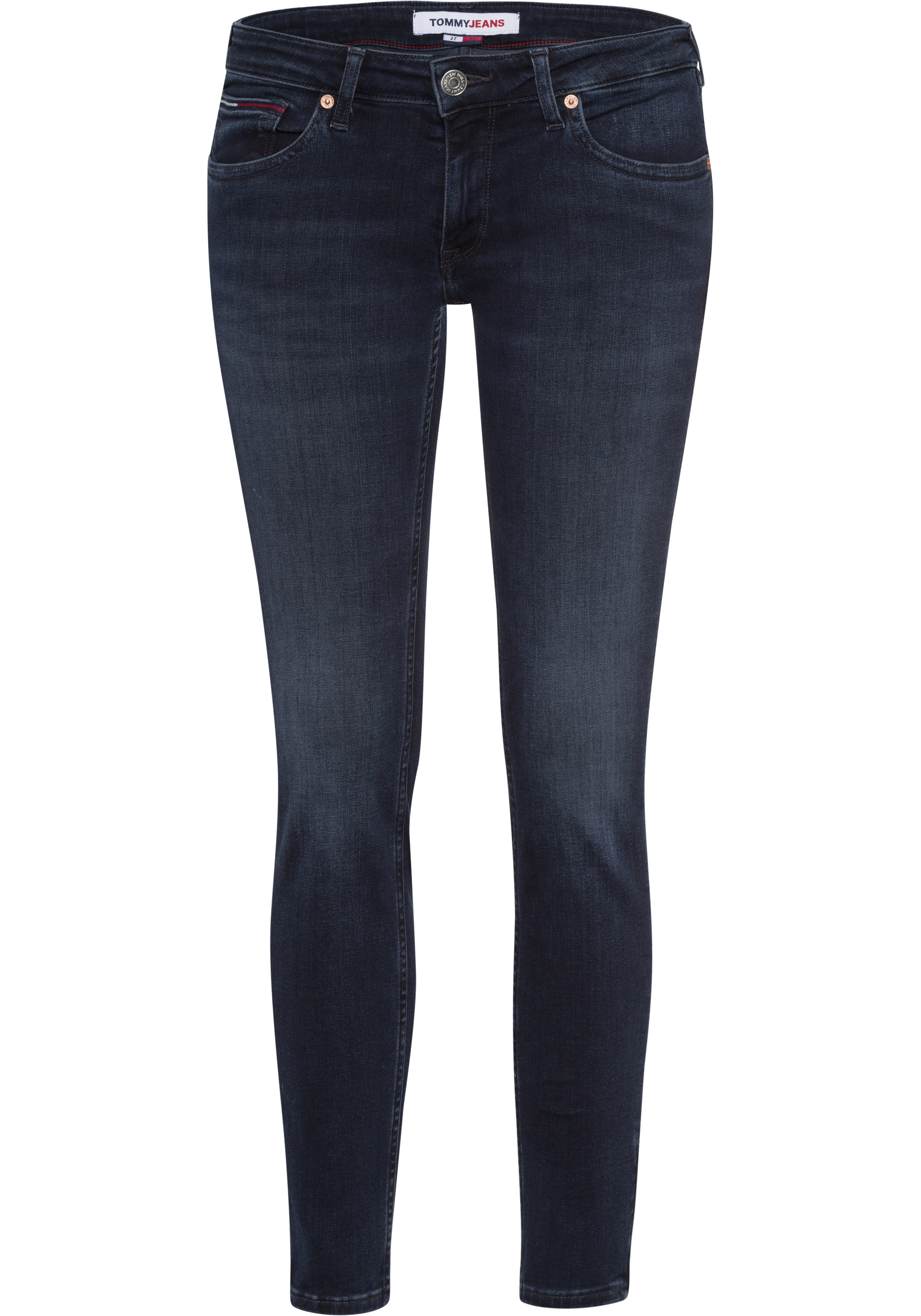 tommy jeans -  Skinny-fit-Jeans SOPHIE LR SKNY AE114 ELBS, mit leichten Faded-out & TommyJeans Logo-Badge