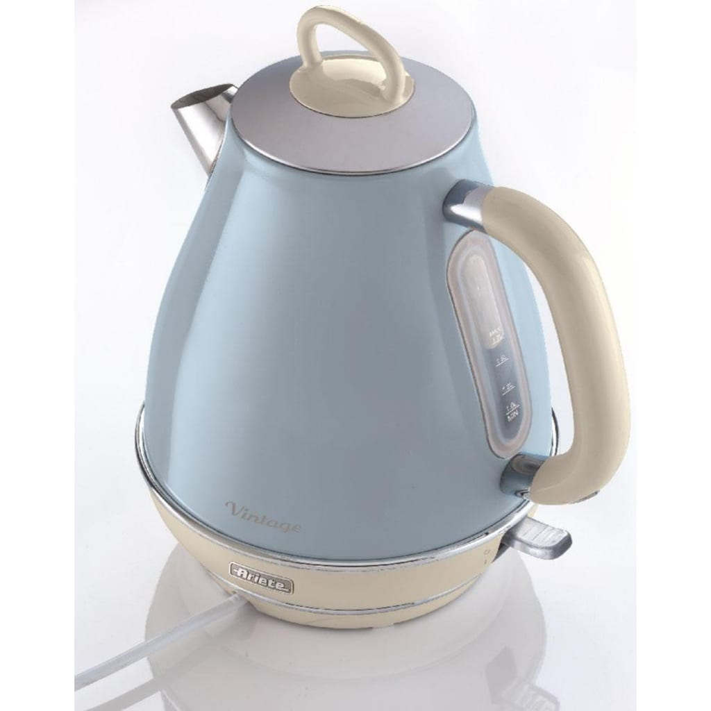 Ariete Wasserkocher »Vintage 2869 blau«, 1,7 l, 2200 W