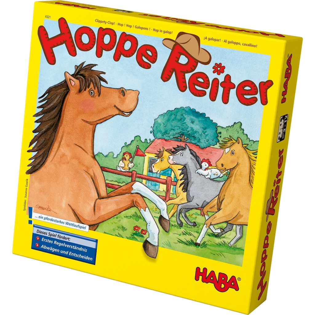 Haba Spiel »Hoppe Reiter«, Made in Germany