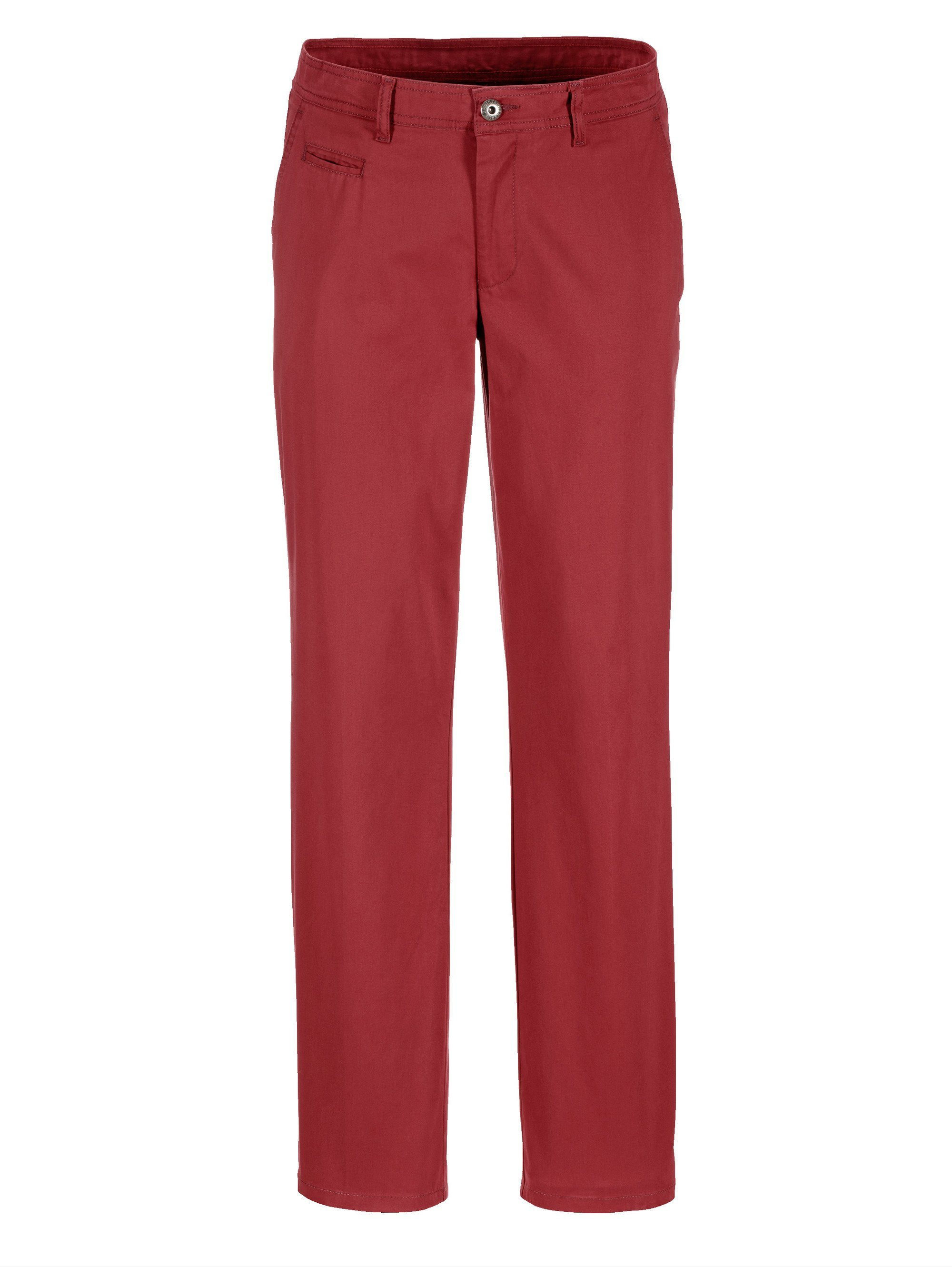 Babista Chino in typischer Chino-Form   Bekleidung > Hosen > Chinohosen   Rot   Baumwolle   BABISTA