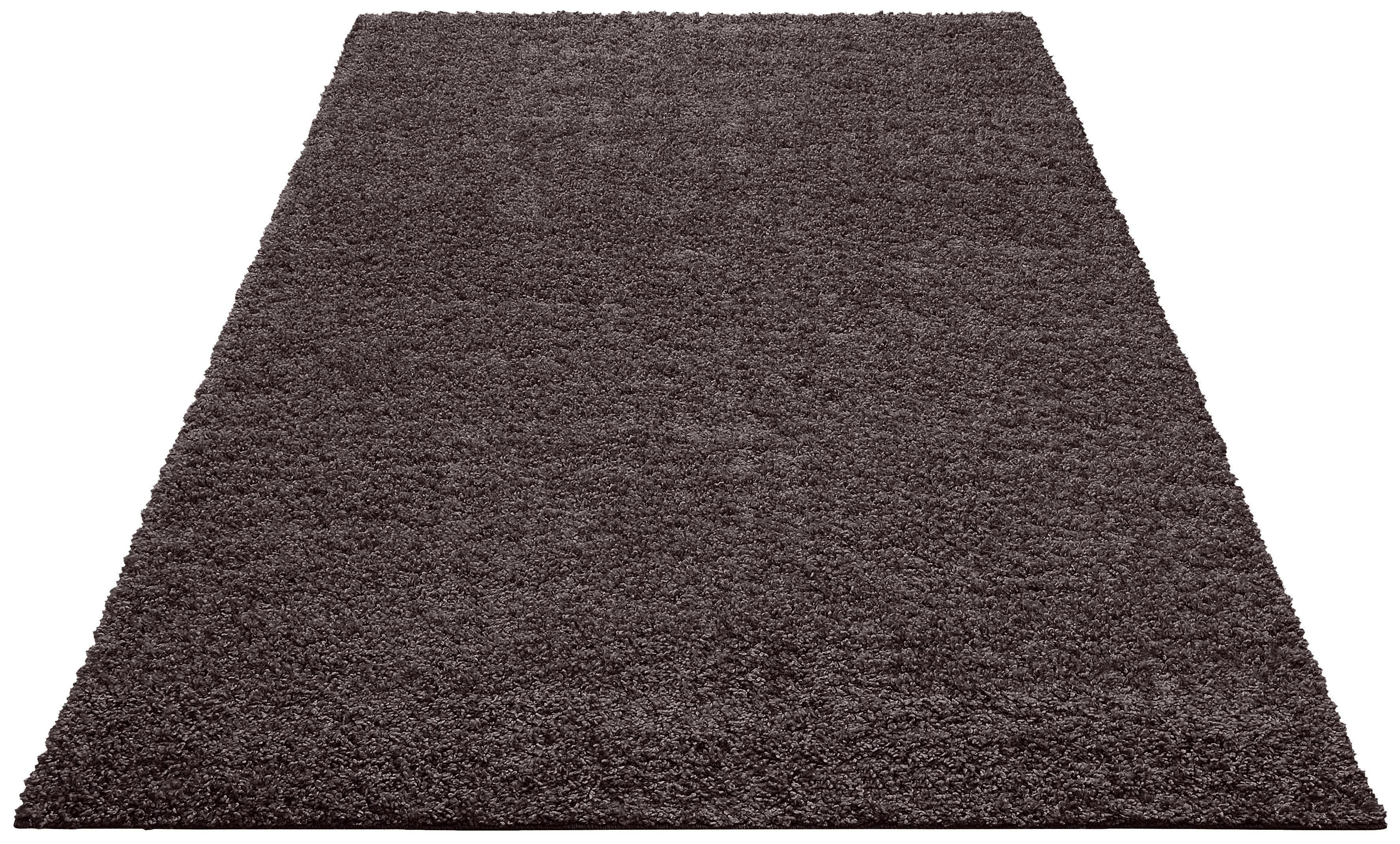 Hochflor-Teppich Shaggy 30 Home affaire rechteckig Höhe 30 mm maschinell gewebt