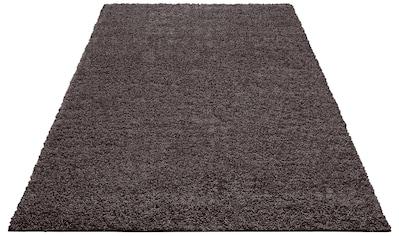Home affaire Hochflor-Teppich »Shaggy 30«, rechteckig, 30 mm Höhe, gewebt, Wohnzimmer kaufen