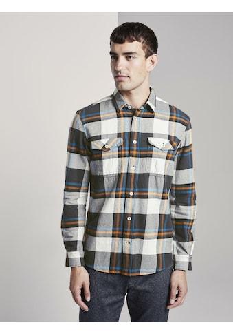 TOM TAILOR Flanellhemd »Flanellhemd« kaufen