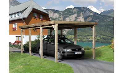 WEKA Einzelcarport »Optima 2«, BxT: 322x612 cm kaufen