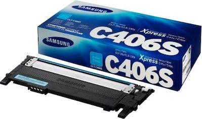 Samsung »CLT - C406S, ST984A, Original, Cyan« Tonerpatrone kaufen