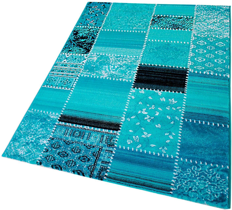 Teppich Maya 3830 Sehrazat rechteckig Höhe 11 mm maschinell gewebt
